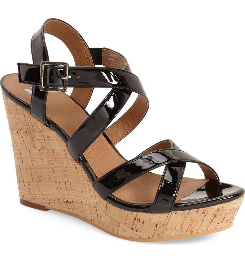 BP. 'Summers' Wedge Sandal, Main, color, 003