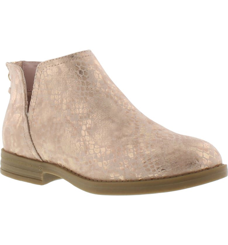 KENNETH COLE NEW YORK Kenneth Cole Esma Snake Print Bootie, Main, color, ROSE