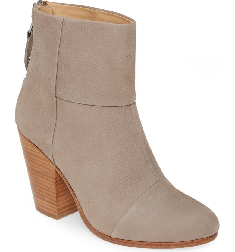 RAG & BONE 'Newbury' Bootie, Main, color, GRANITE NUBUCK