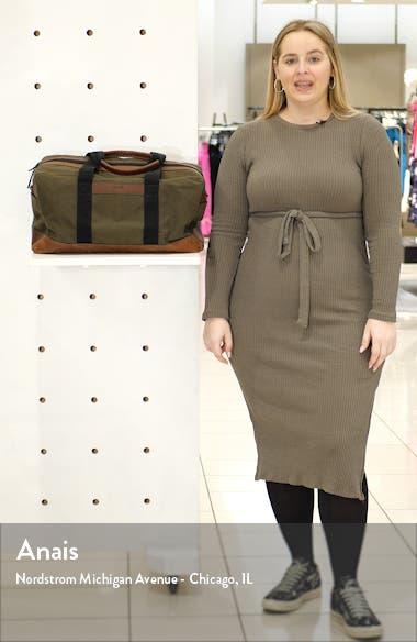 Mack Waxed Canvas Duffle Bag, sales video thumbnail