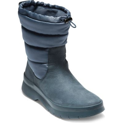 Cole Haan Pinch Waterproof Boot, Blue