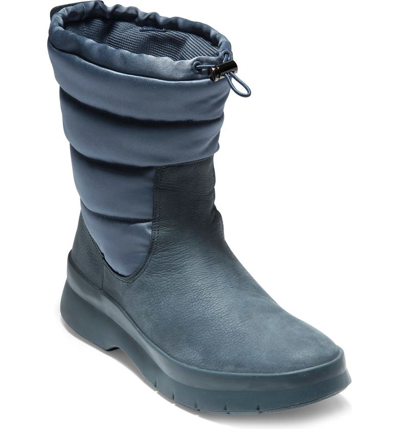 COLE HAAN Pinch Waterproof Boot, Main, color, OMBRE BLUE LEATHER