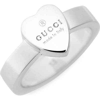 Gucci Trademark Heart Ring