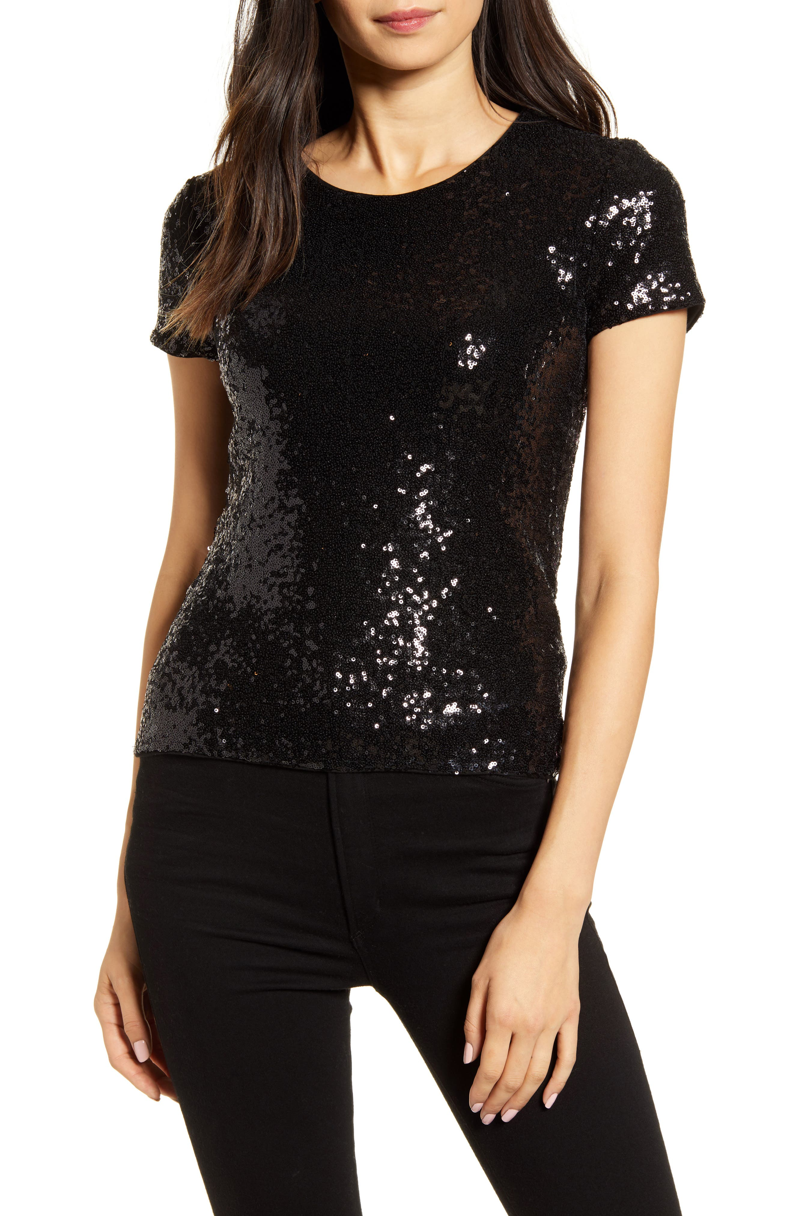 Image of Bailey 44 Edie Sequin T-Shirt
