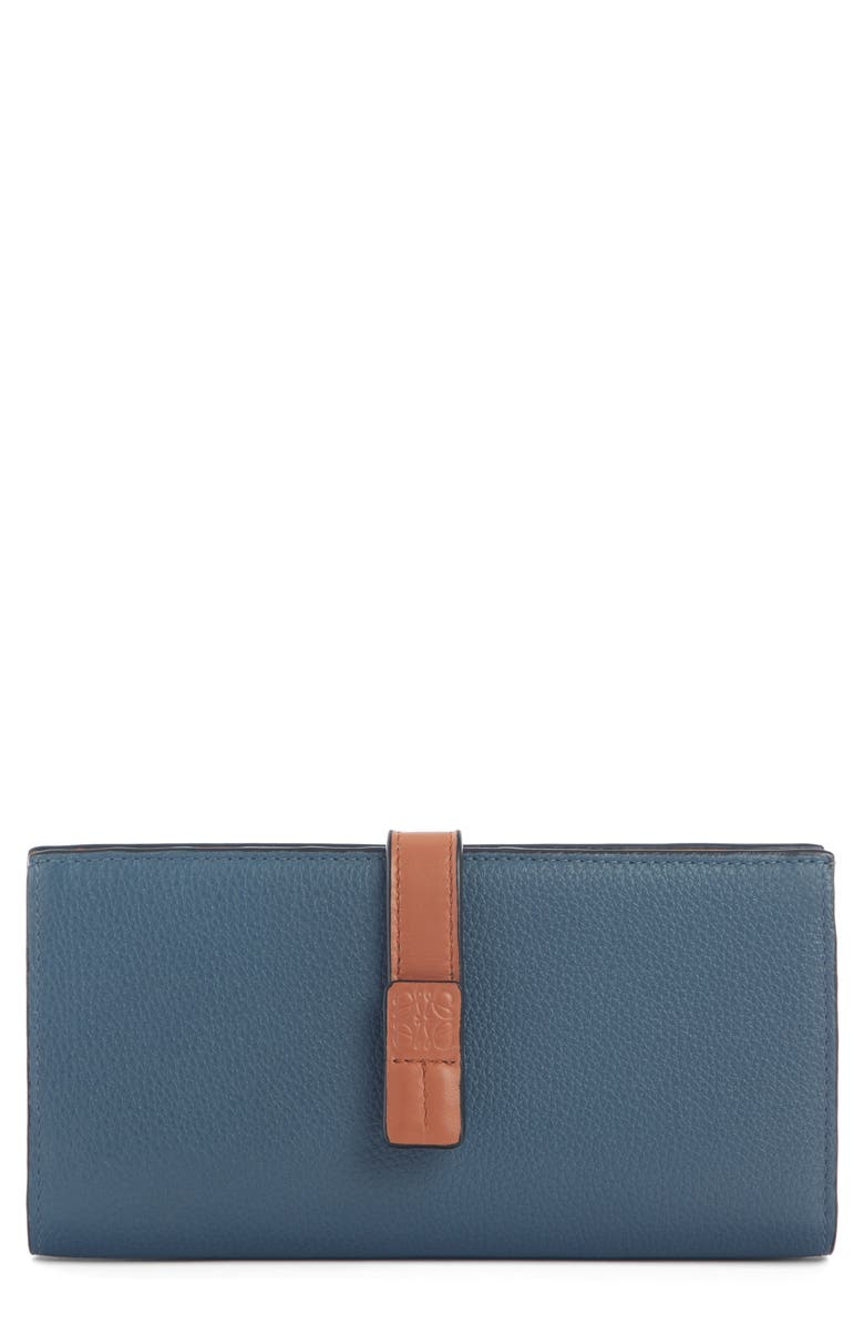 LOEWE Large Leather Wallet, Main, color, 455