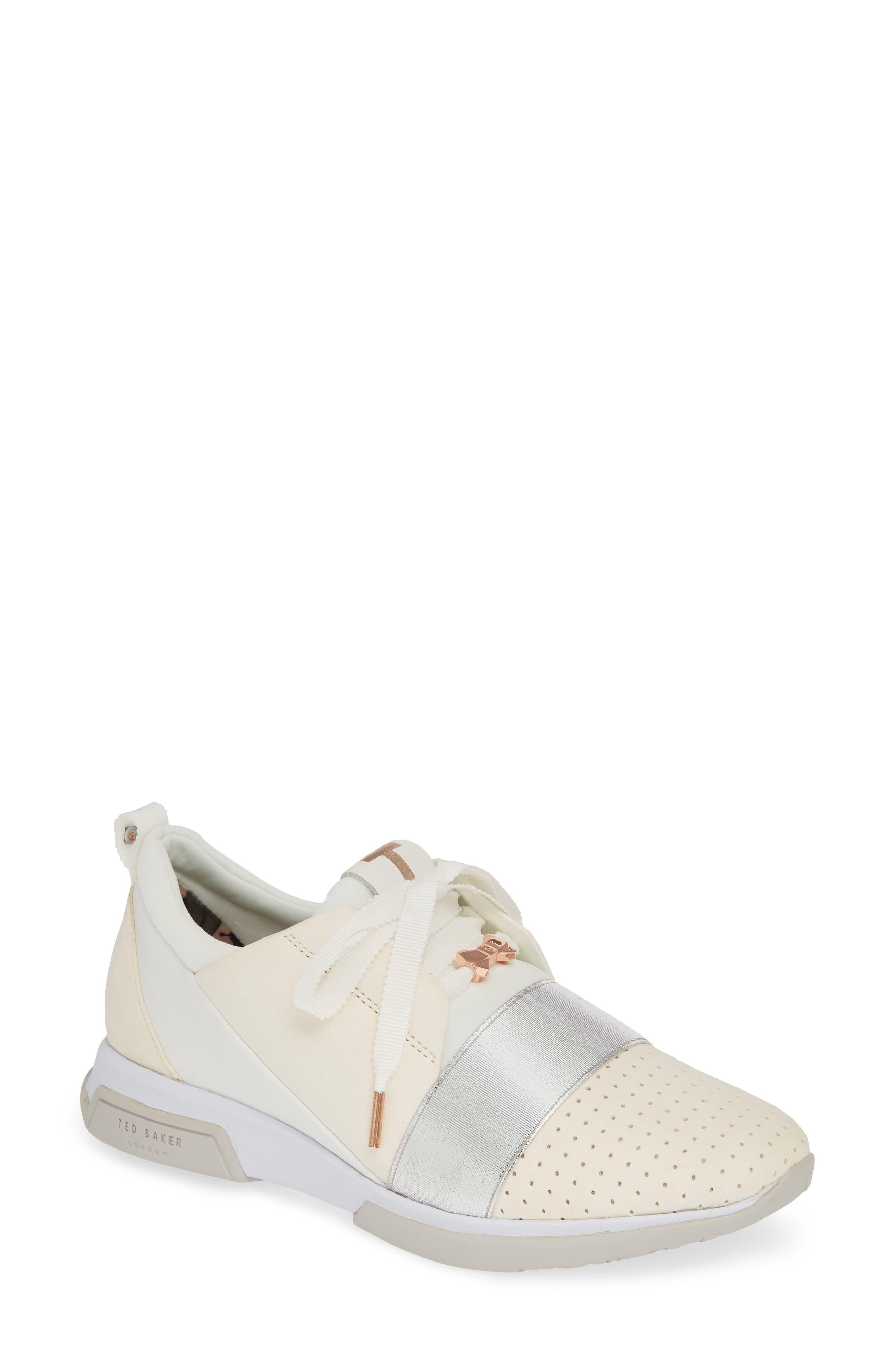 Ted Baker London Cepap Sneaker, White