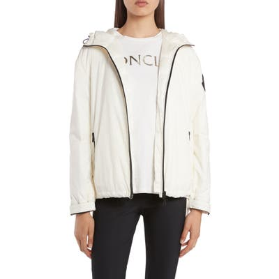 Moncler Lilas Fill Down Jacket, (fits like 0-2 US) - White
