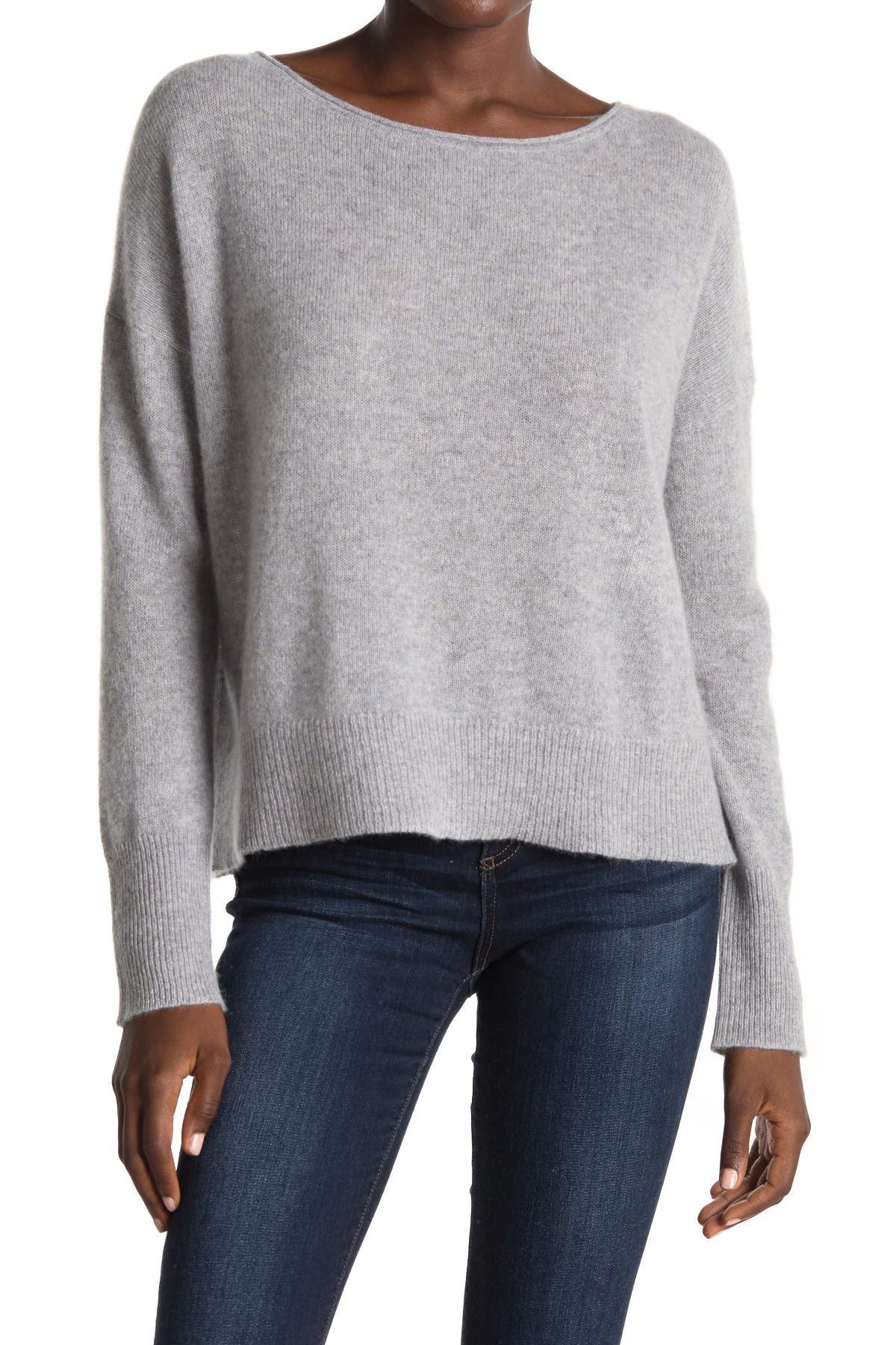 Image of 360 Cashmere Greyson Anchor Graphic Cashmere Sweater