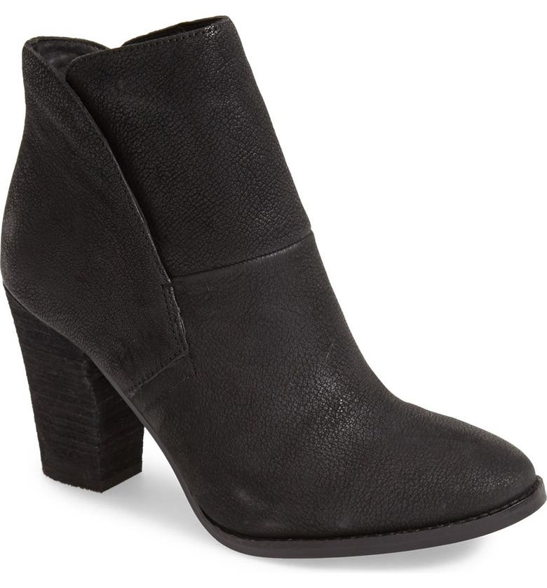 VINCE CAMUTO 'Ristin' Leather Bootie, Main, color, 001