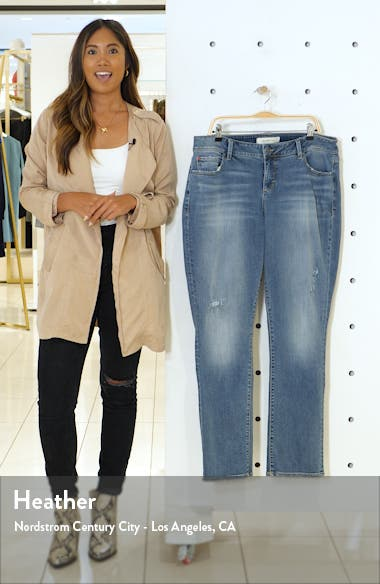 Distressed Straight Leg Jeans, sales video thumbnail