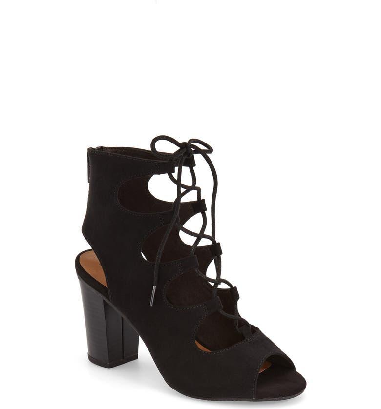 BC FOOTWEAR 'Vivacious' Lace-Up Sandal, Main, color, 001