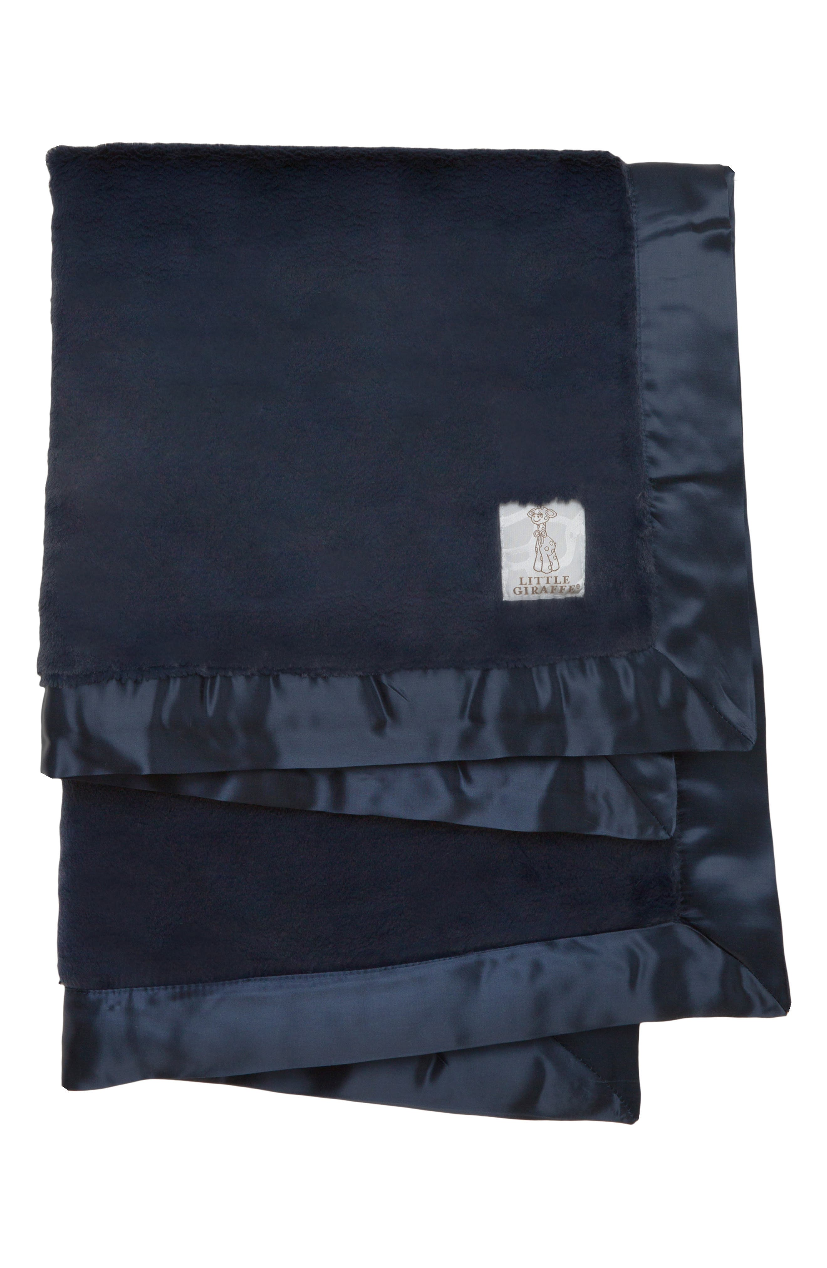 ,                             Luxe Baby Blanket,                             Main thumbnail 1, color,                             DENIM