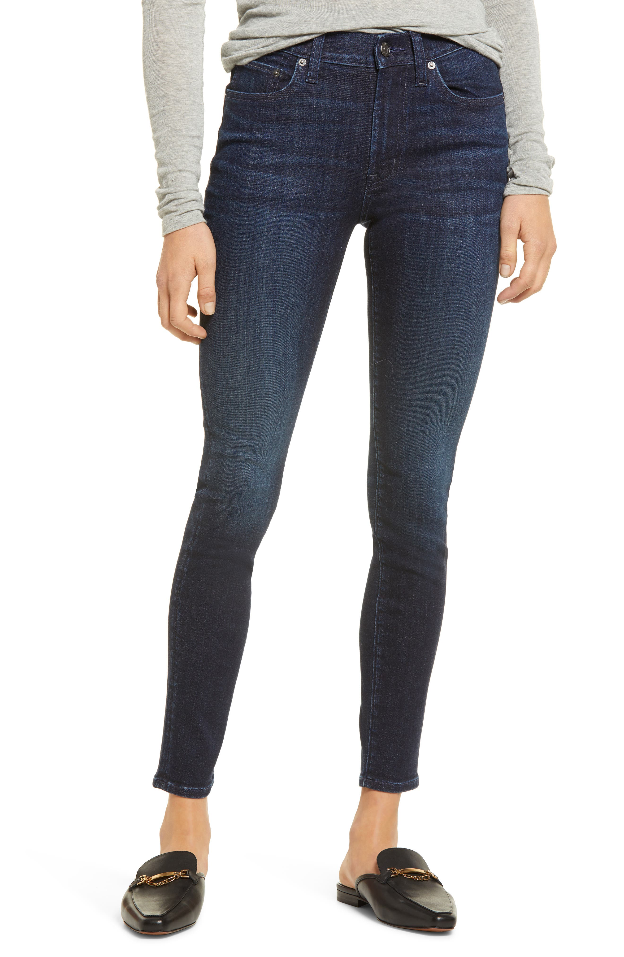 Pixie Mid Rise Ankle Skinny Jeans