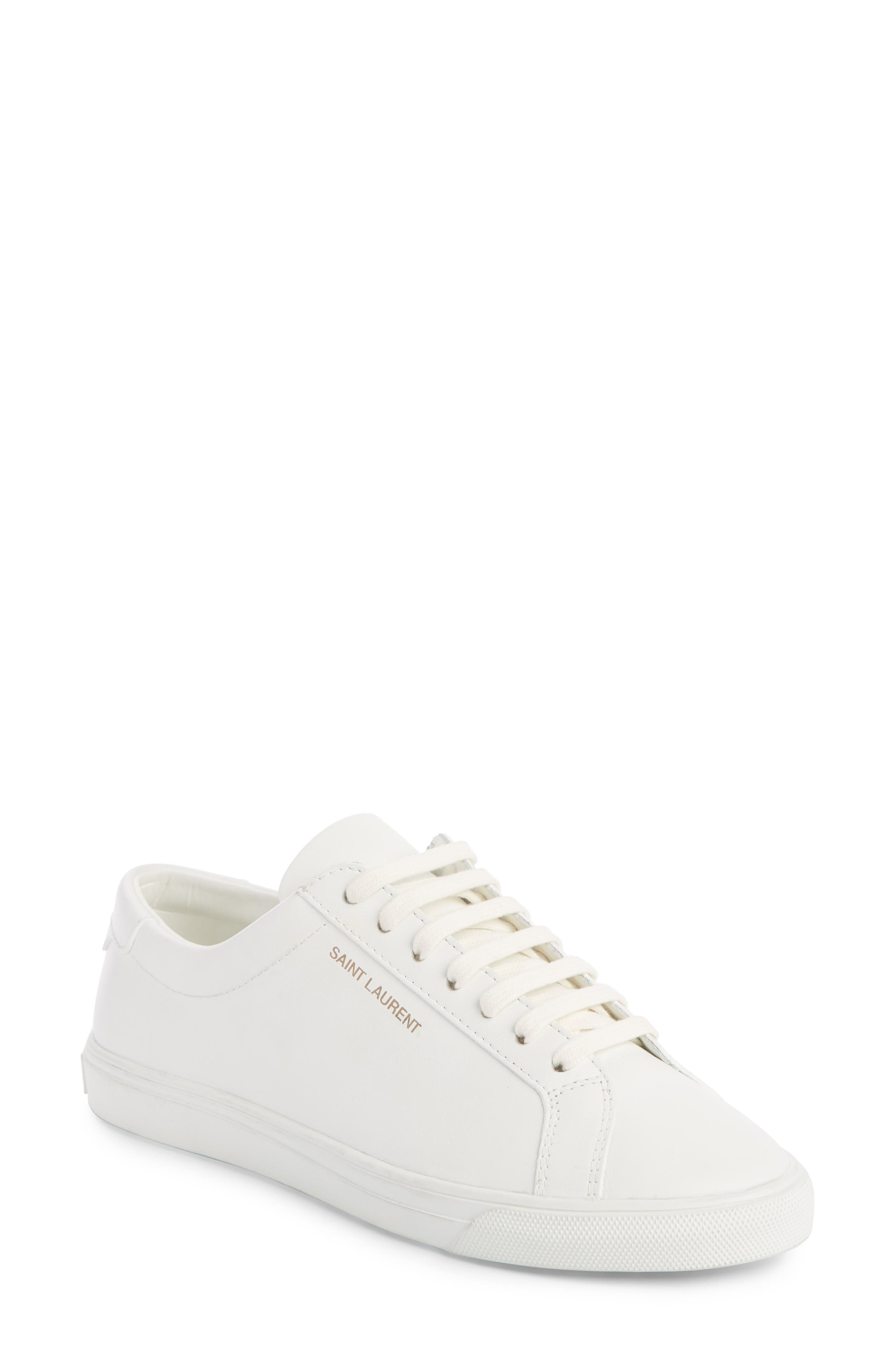 Saint Laurent Andy Sneaker - White