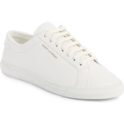 Saint Laurent Andy Sneaker, White