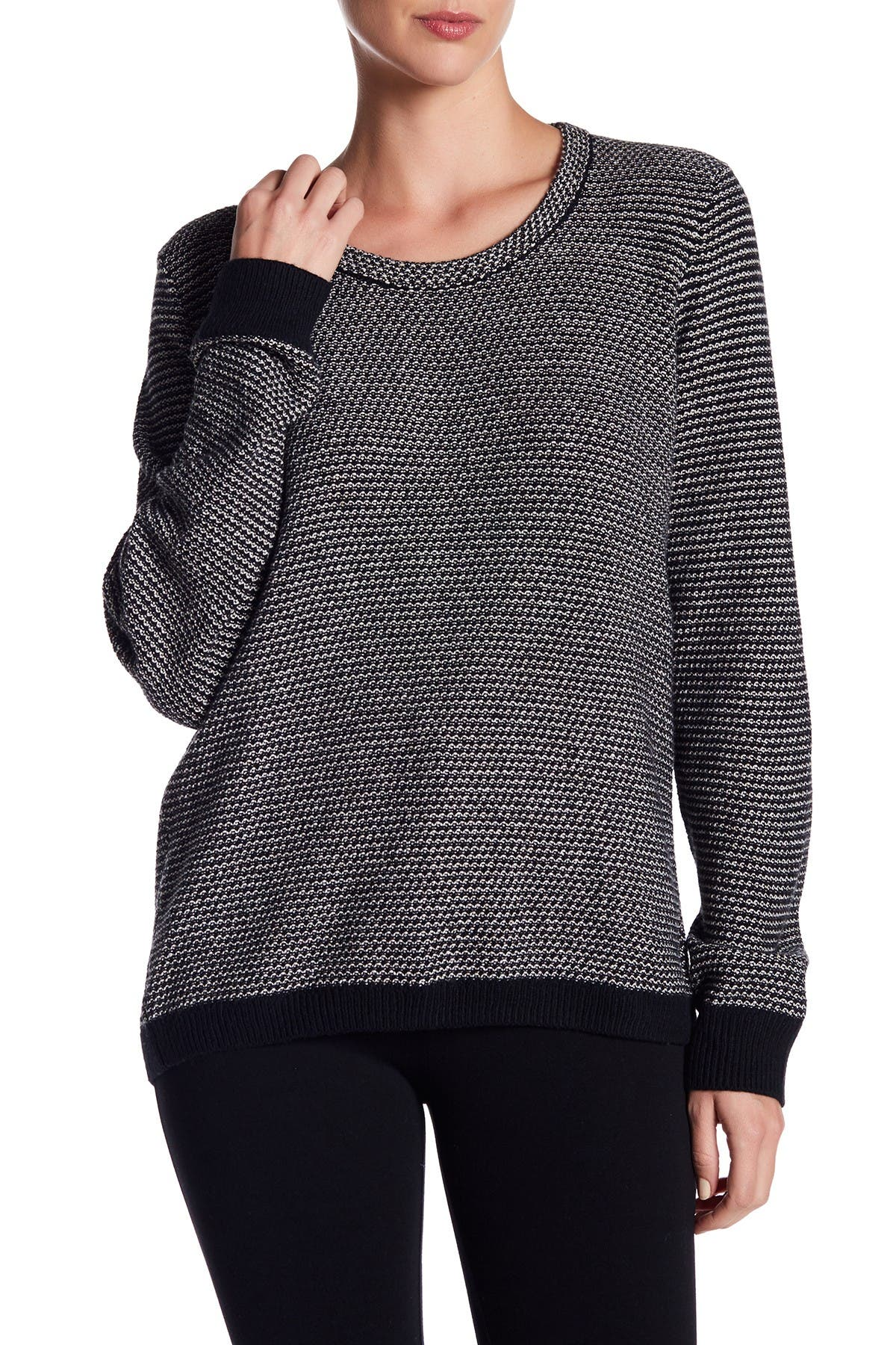 Image of Madewell Crew Neck Knit Sweater