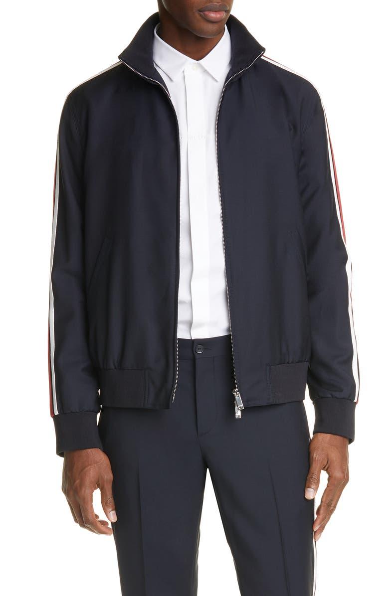 VALENTINO Stripe Track Jacket, Main, color, 407