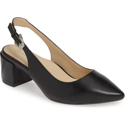Bettye Muller Concepts Flynn Slingback Pump, Black