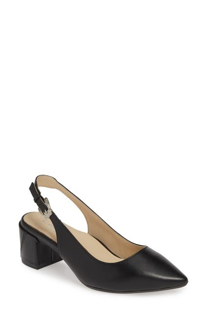 Image of BETTYE MULLER CONCEPTS Flynn Leather Slingback Pump