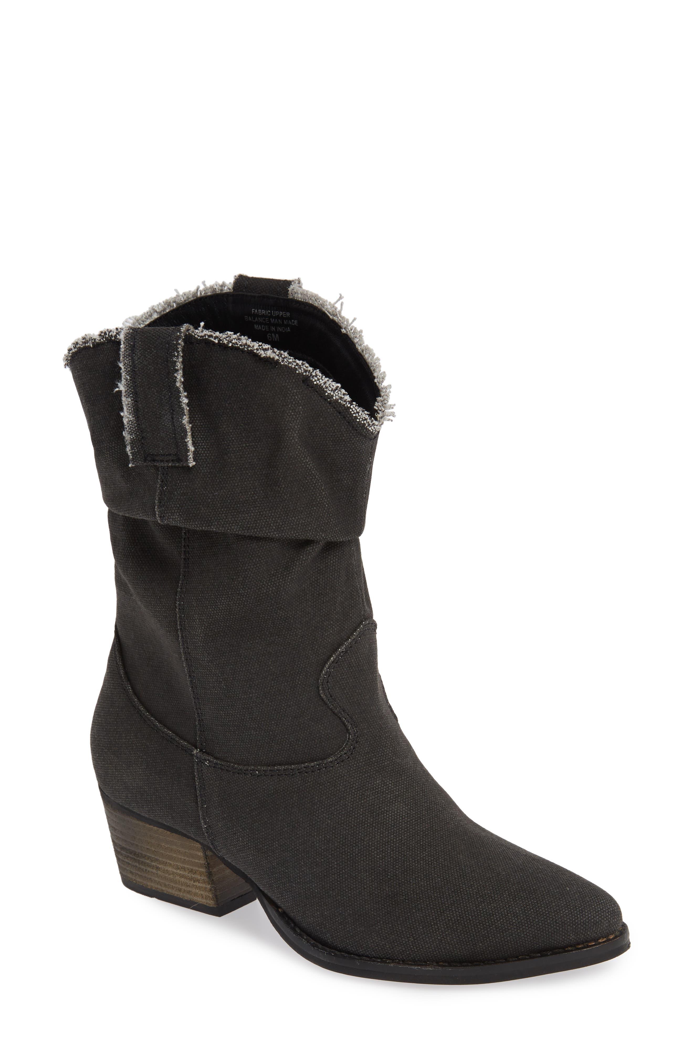 Charles By Charles David Zulu Western Boot, Black