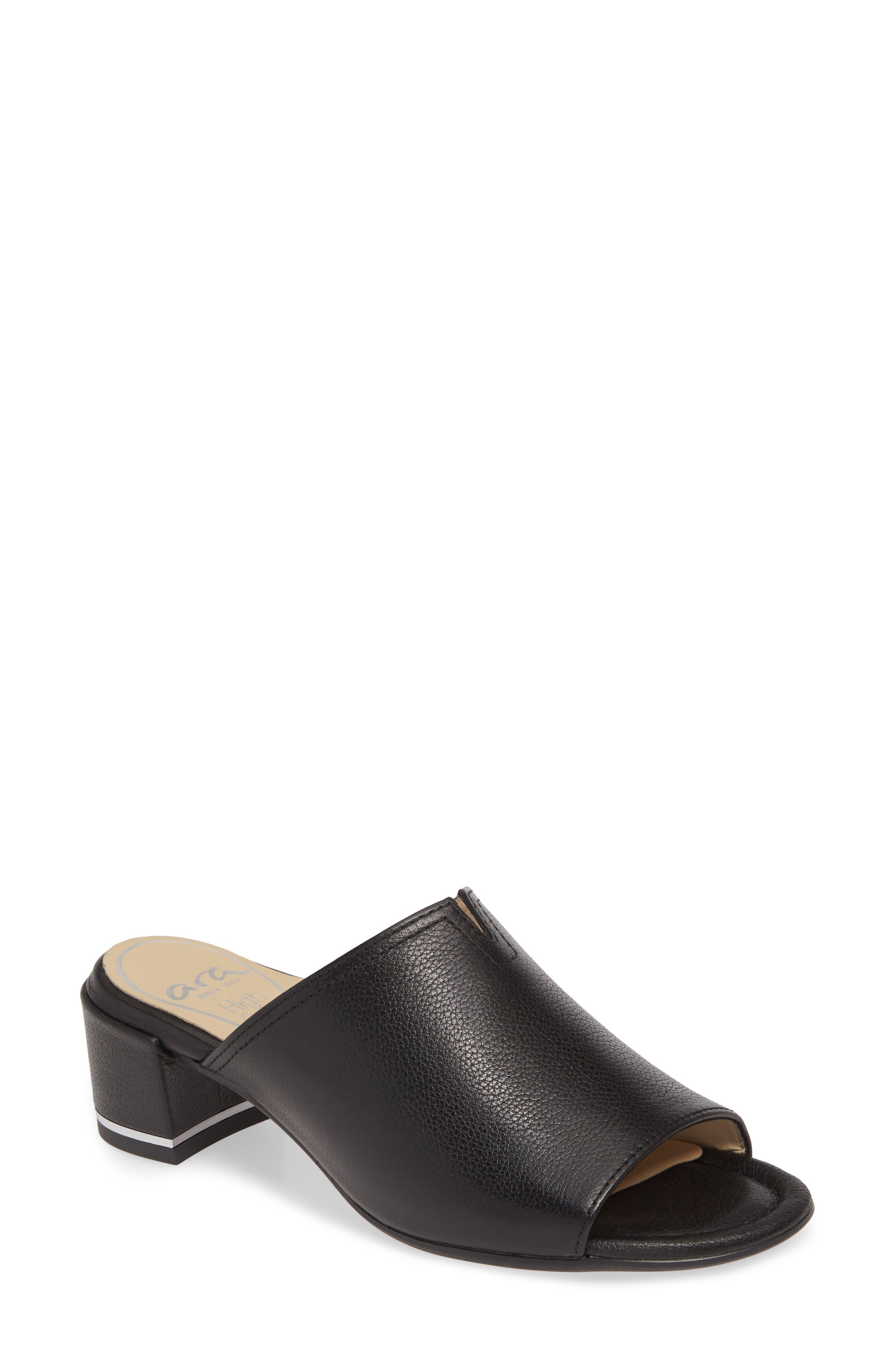Gerty Notch Vamp Slide Sandal