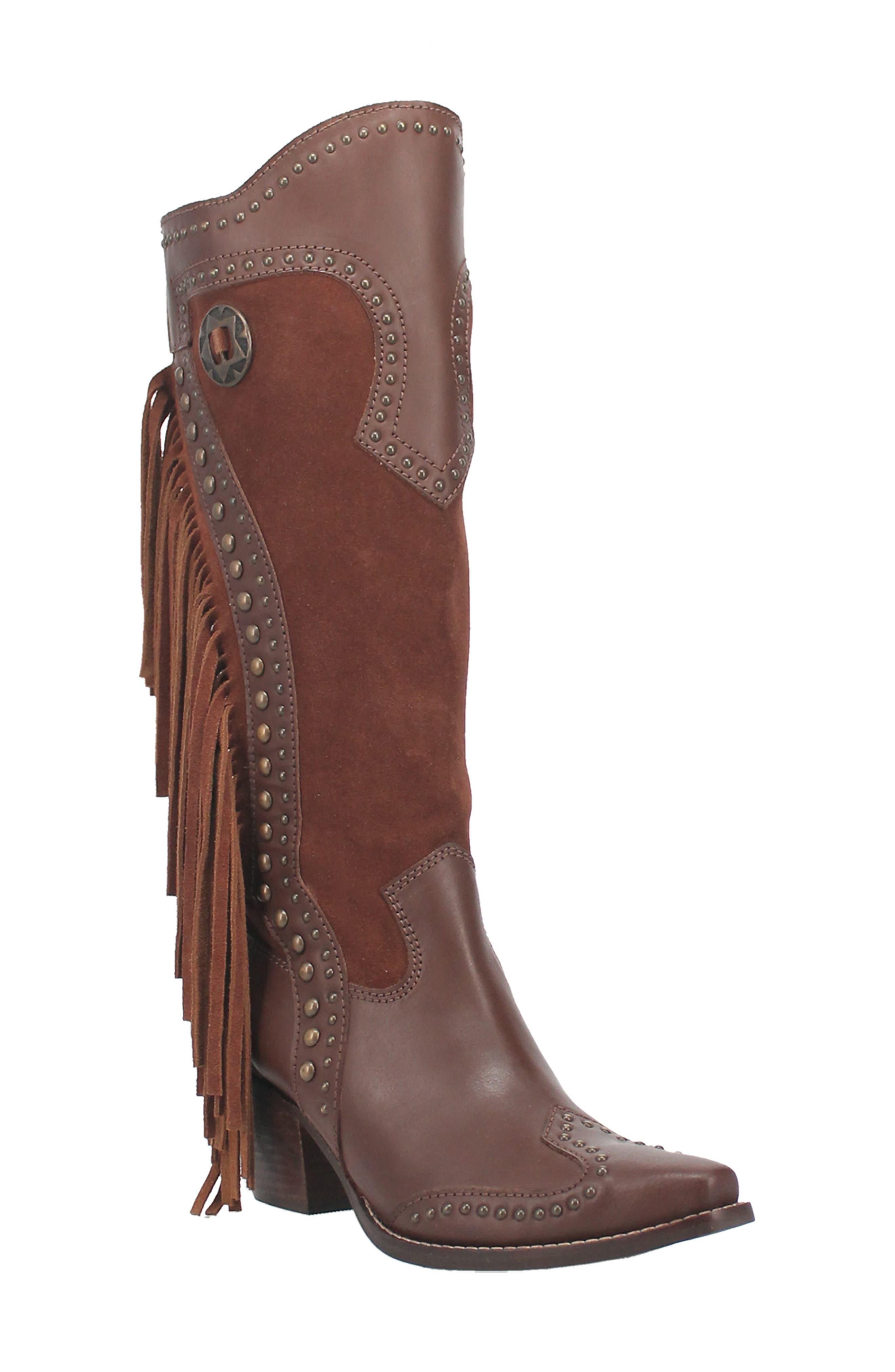 Tahoe Fringe Western Boot
