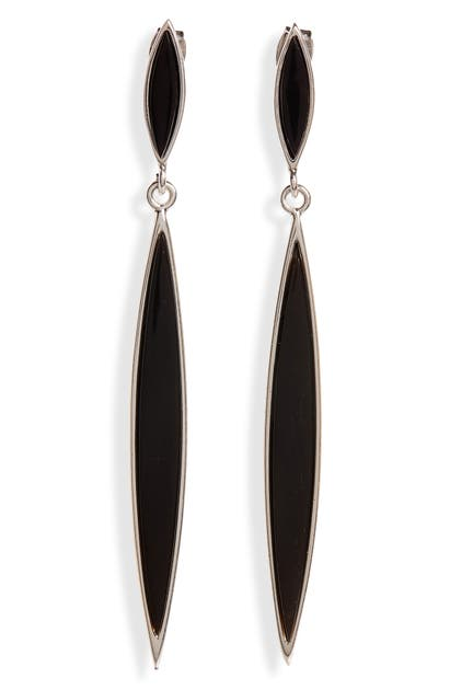 Isabel Marant MODERNIST DOUBLE DROP EARRINGS