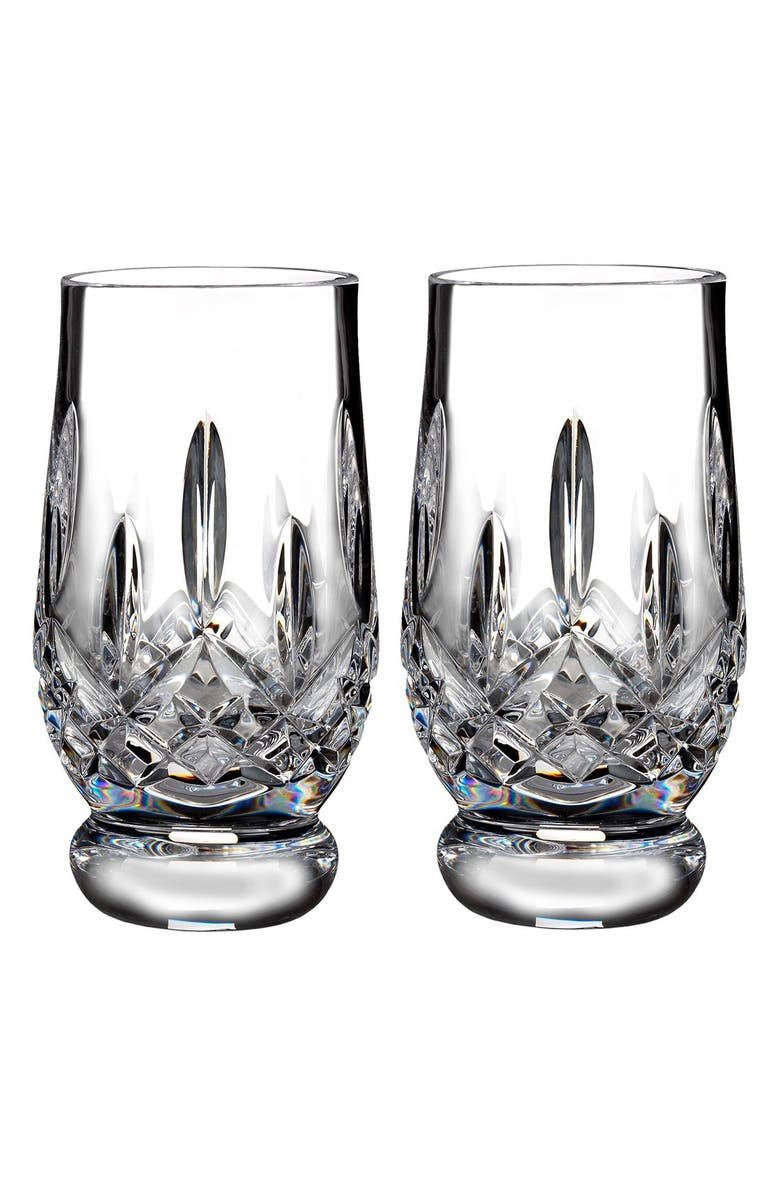 WATERFORD 'Lismore' Lead Crystal Footed Tasting Tumblers, Main, color, 100