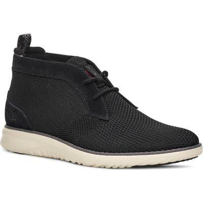 Ugg Union Hyperweave Chukka Sneaker, Black