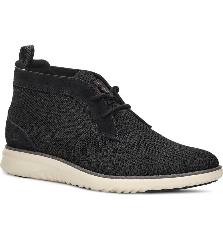 UGG<SUP>®</SUP> Union HyperWeave Chukka Sneaker, Main, color, 010