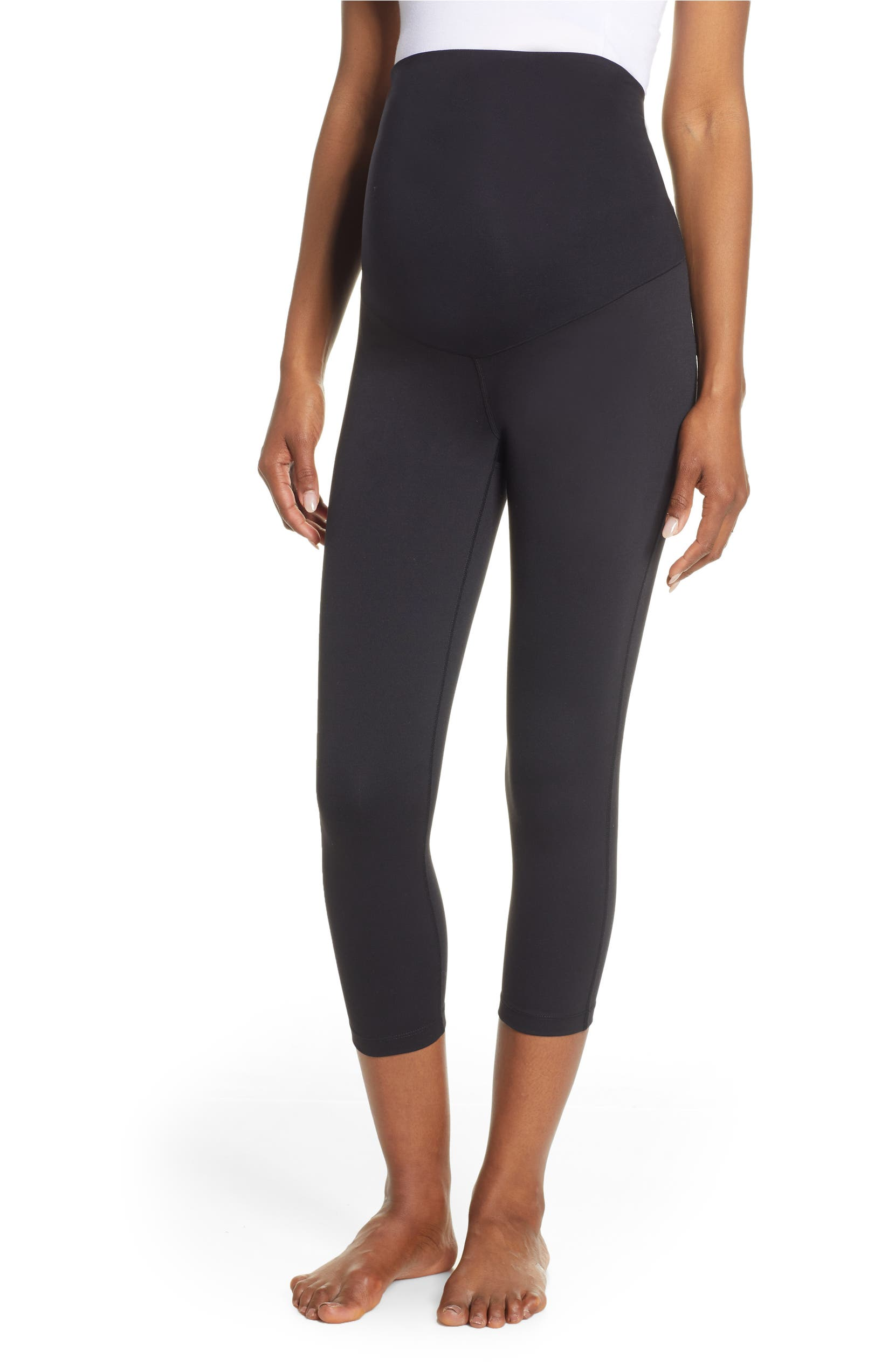 90d91dfd92028a Zella Live In Maternity Crop Leggings | Nordstrom