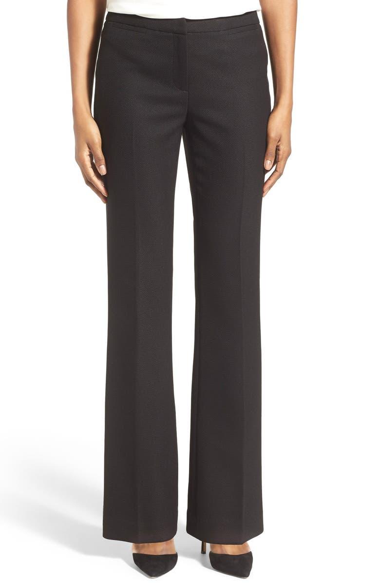 HALOGEN<SUP>®</SUP> 'Quinn' Diamond Stretch Pants, Main, color, 001