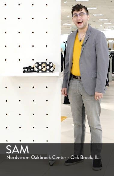 Dot Snapshot Leather Crossbody Bag, sales video thumbnail
