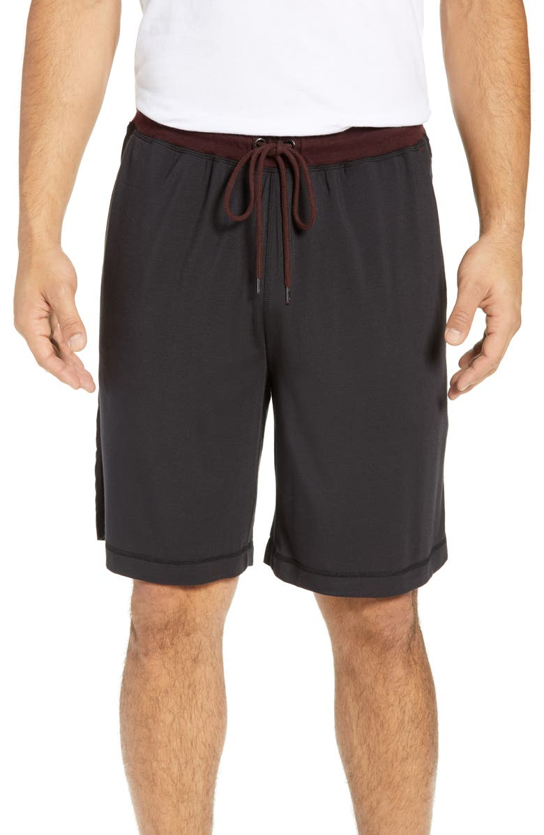 DANIEL BUCHLER Modal Blend Pajama Shorts, Main, color, 001