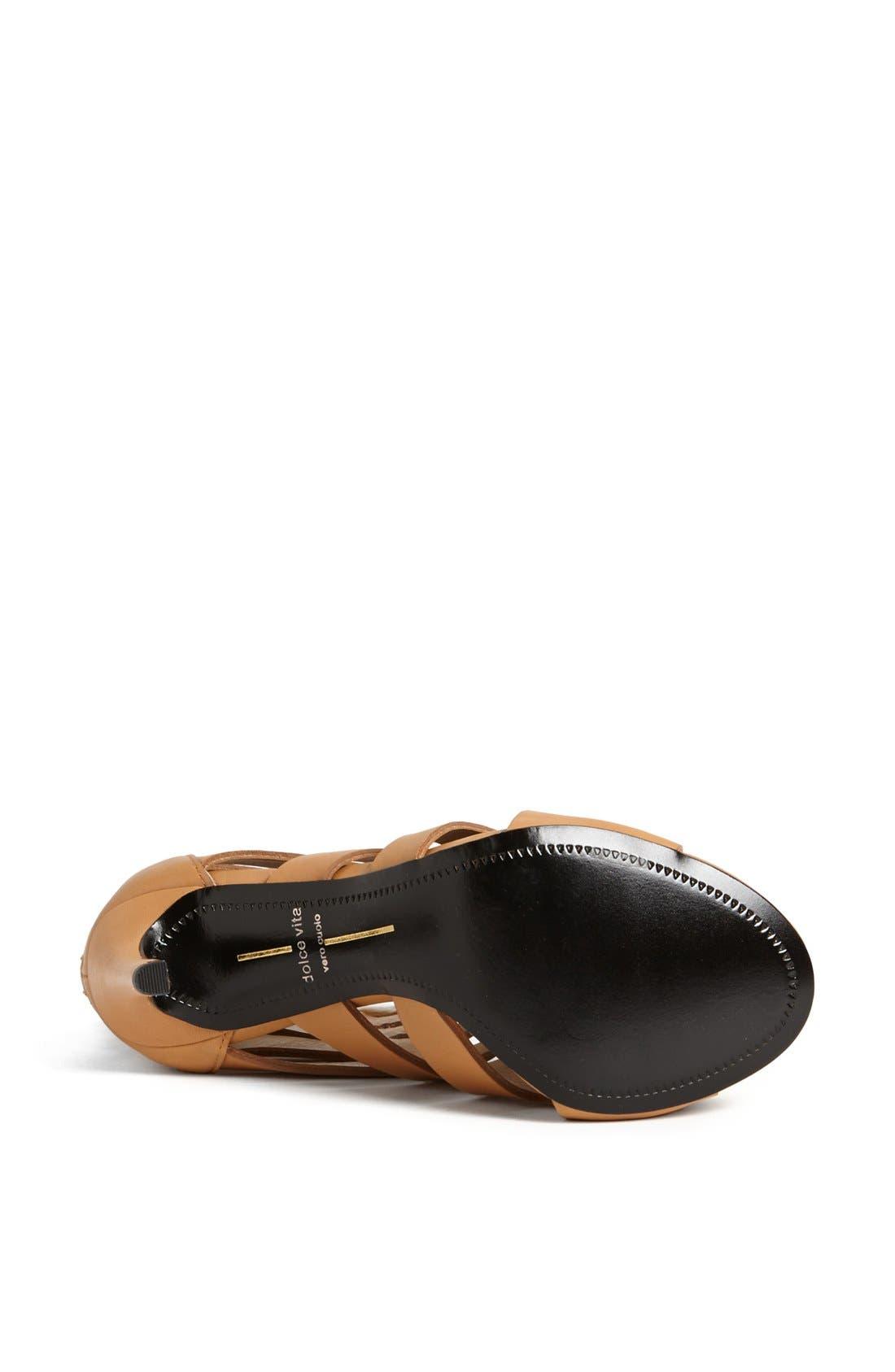 ,                             'Hettie' Leather Sandal,                             Alternate thumbnail 8, color,                             290