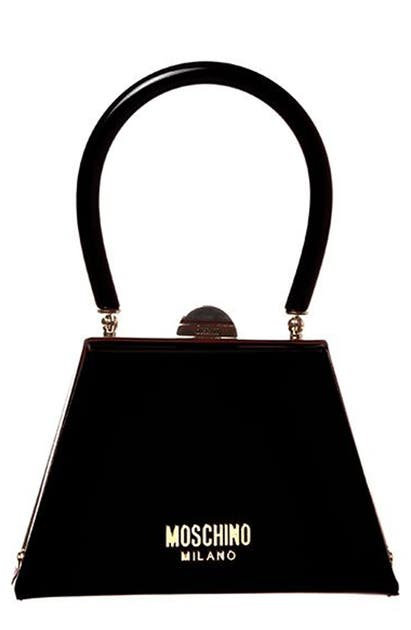Moschino LEATHER FRAME BAG