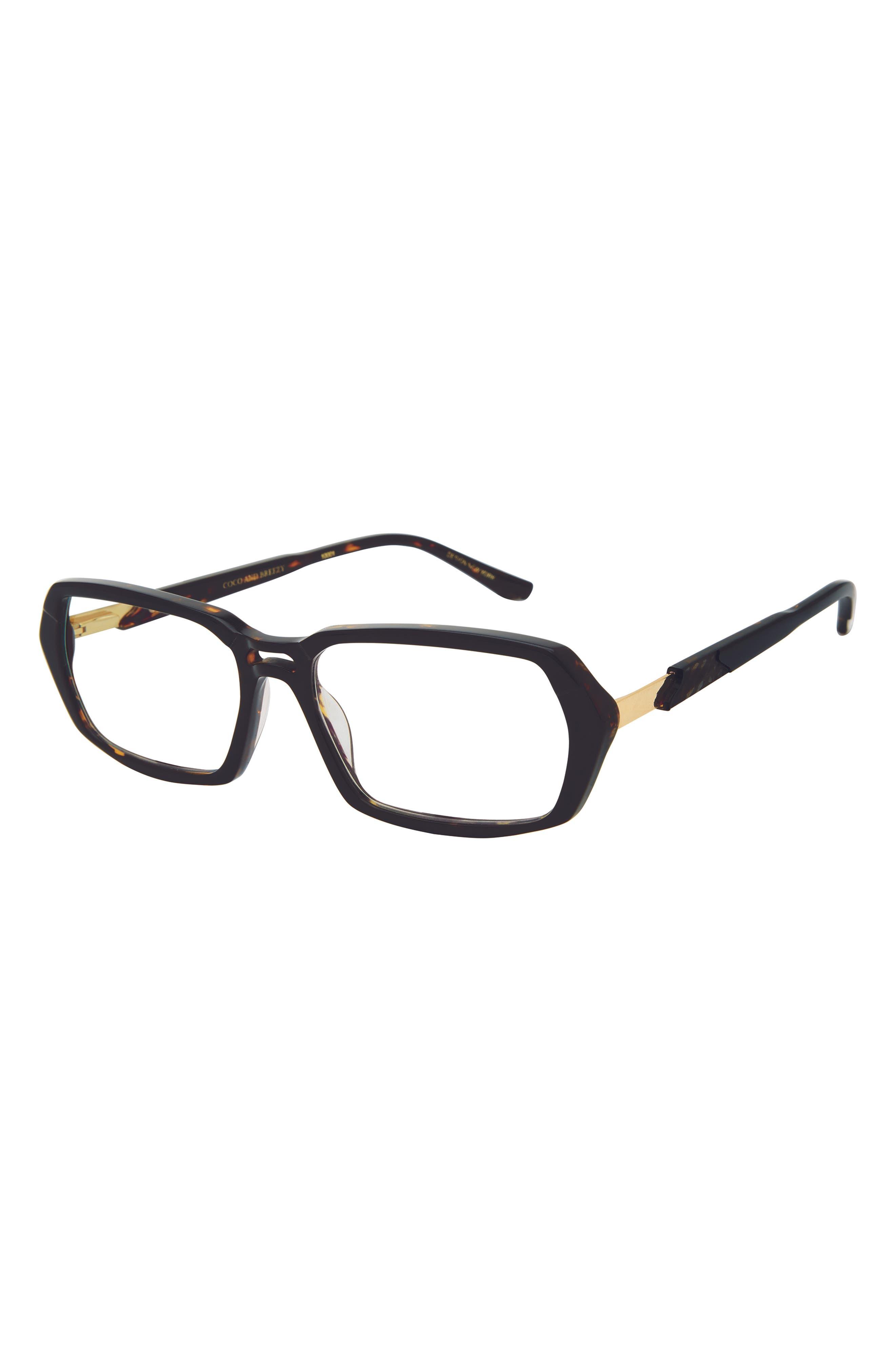 Admire 53mm Rectangularblue Light Blocking Glasses