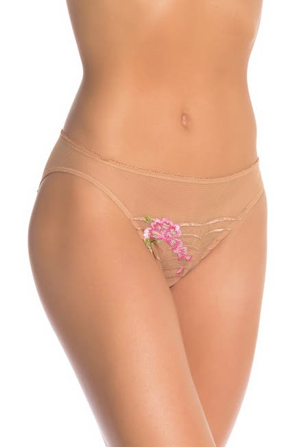 Image of Wacoal Intuition Embroidered Bikini Briefs