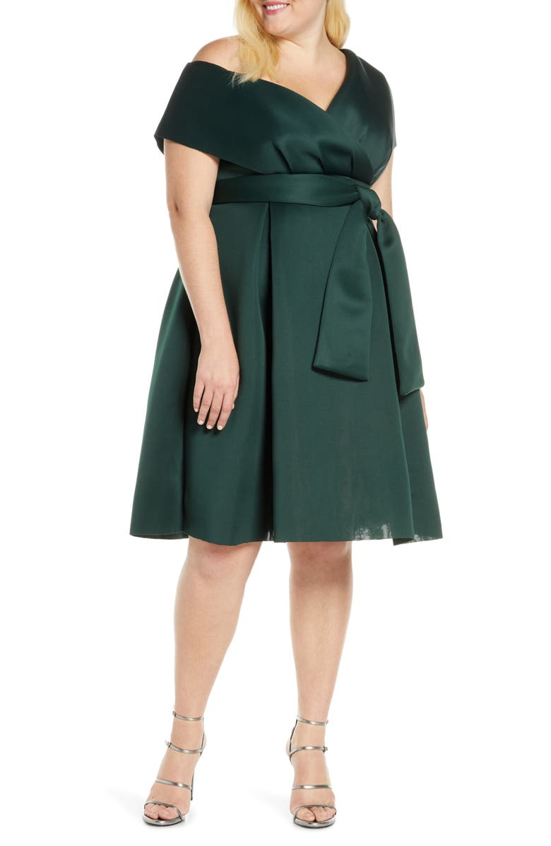 CHI CHI LONDON Curve Edel One-Shoulder Cocktail Dress, Main, color, 447