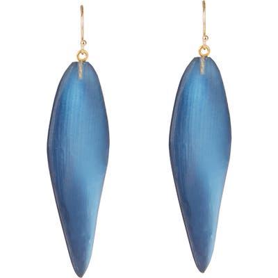 Alexis Bittar Long Leaf Drop Earrings