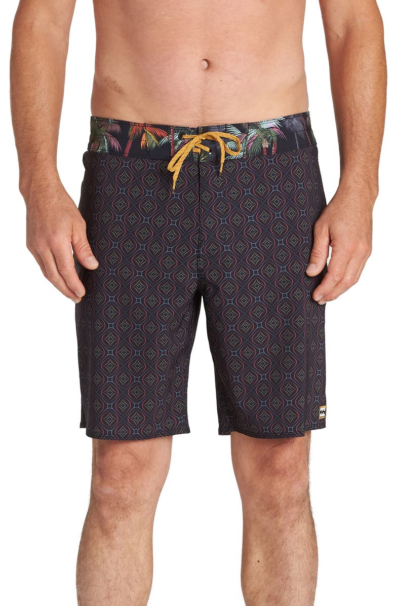 BILLABONG Sundays Pro Board Shorts, Main, color, 001