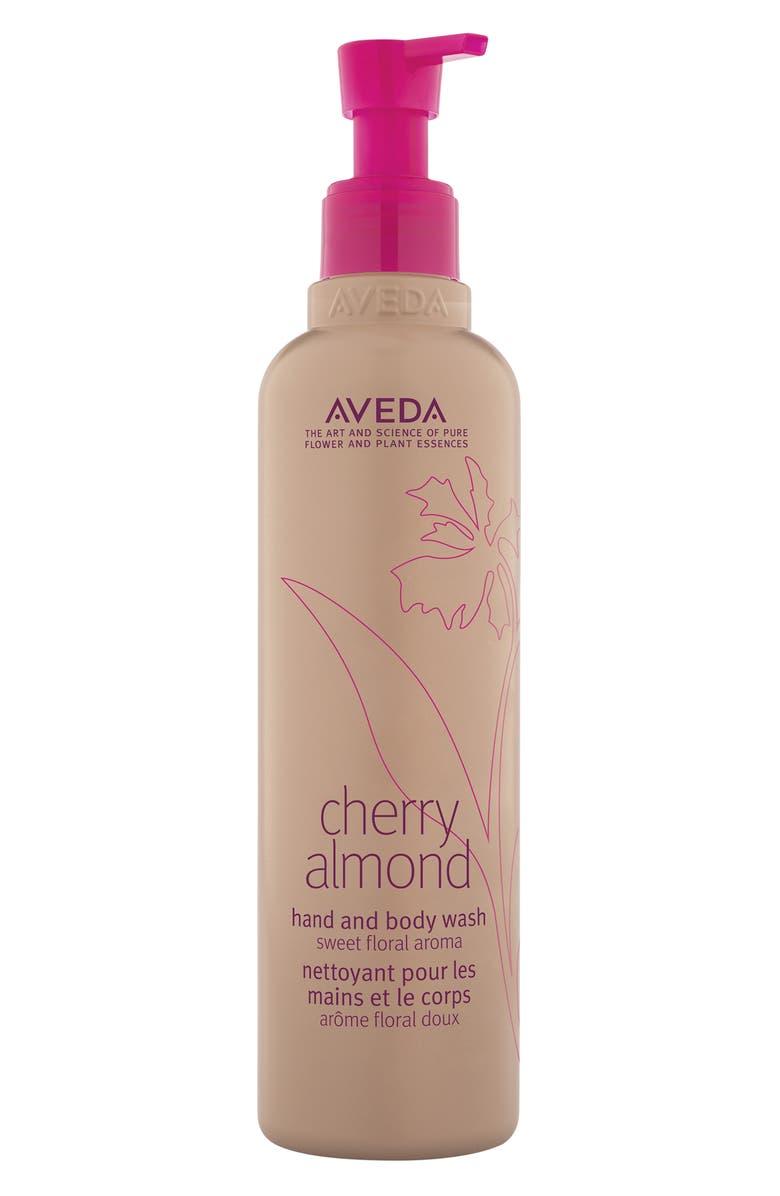 AVEDA Cherry Almond Hand & Body Wash, Main, color, NO COLOR