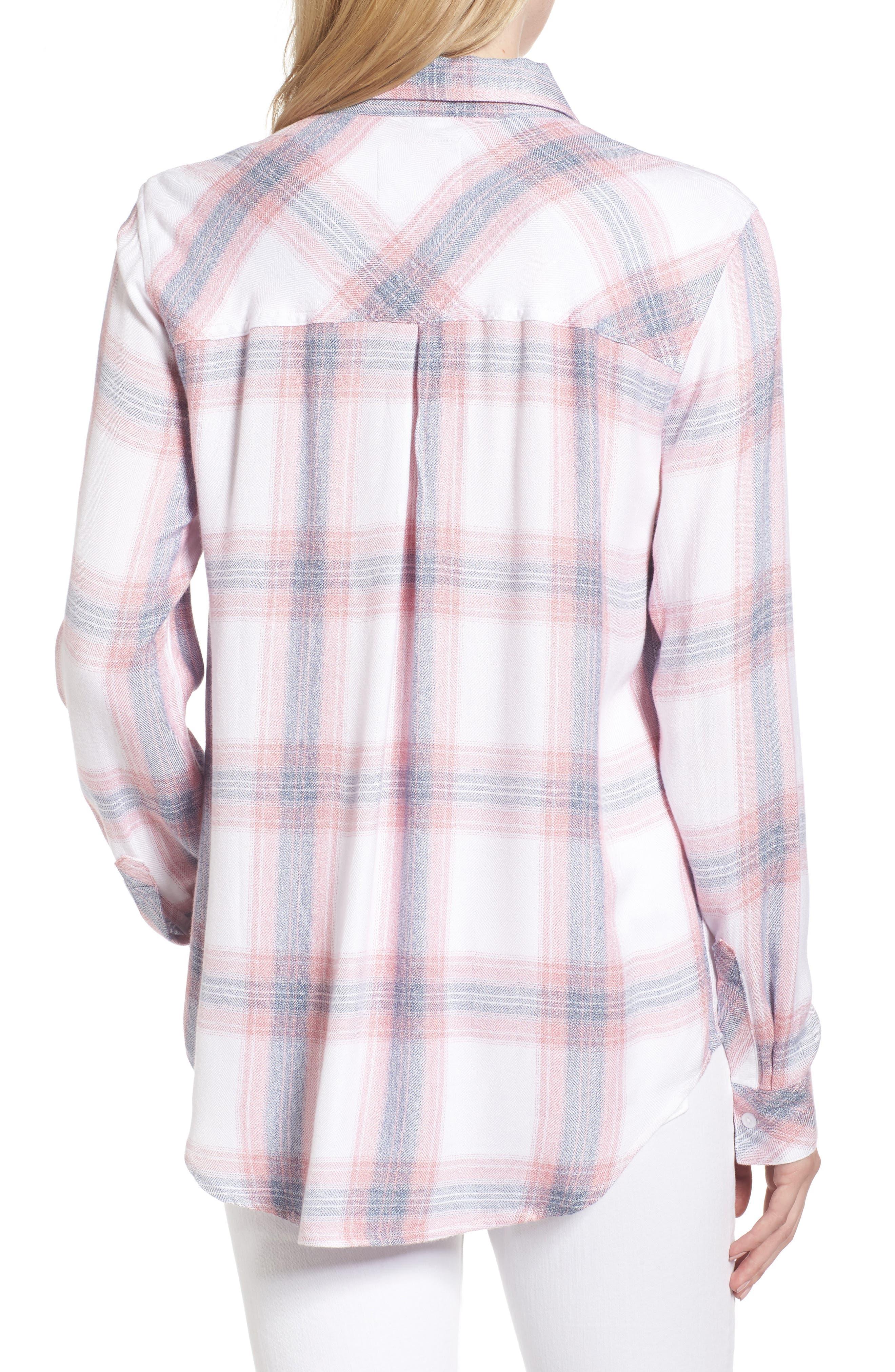 ,                             Hunter Plaid Shirt,                             Alternate thumbnail 640, color,                             154