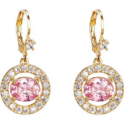 Nina Rose Crystal Drop Earrings