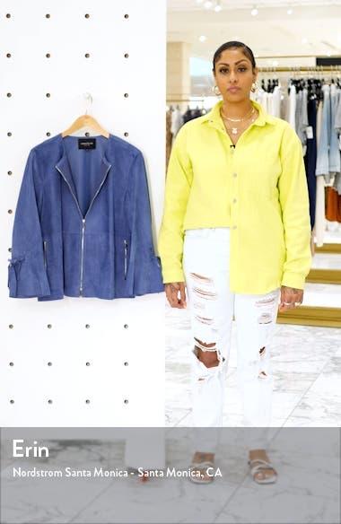 Johnsie Suede Jacket, sales video thumbnail