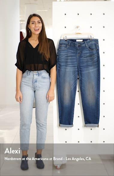 High Waist Boyfriend Jeans, sales video thumbnail