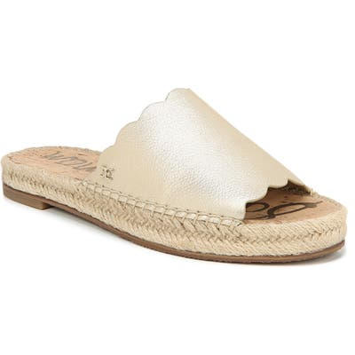 Sam Edelman Andy Slide Sandal, Metallic