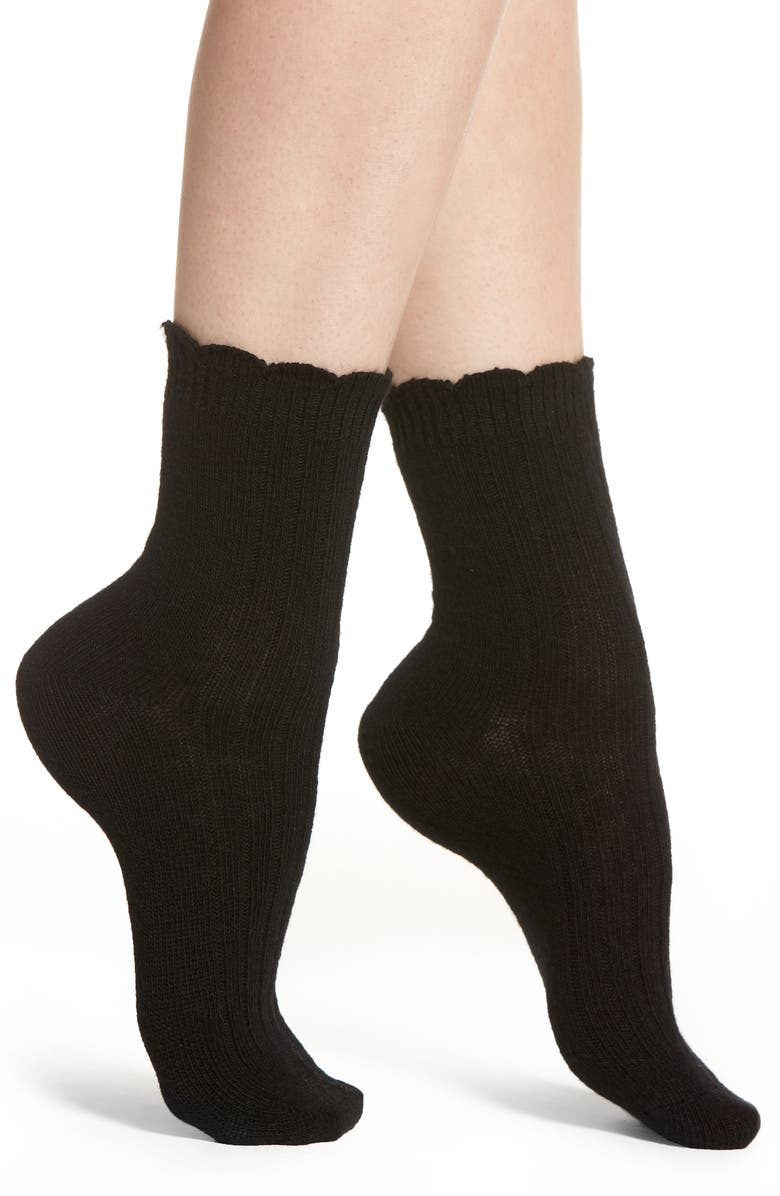 UGG<SUP>®</SUP> Nayomi Socks, Main, color, 001