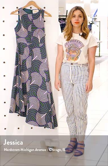Pina Asymmetrical Hem Midi Dress, sales video thumbnail
