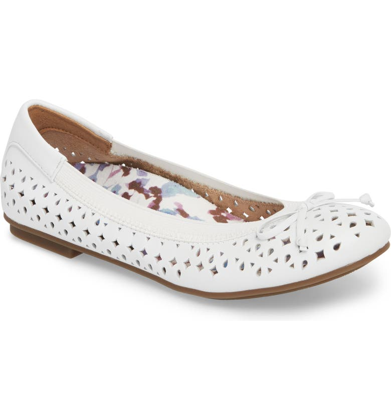564f3b6be3d47 Vionic 'Surin' Perforated Ballet Flat (Women) | Nordstrom